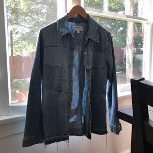FRAME le patchwork Denim Jacket